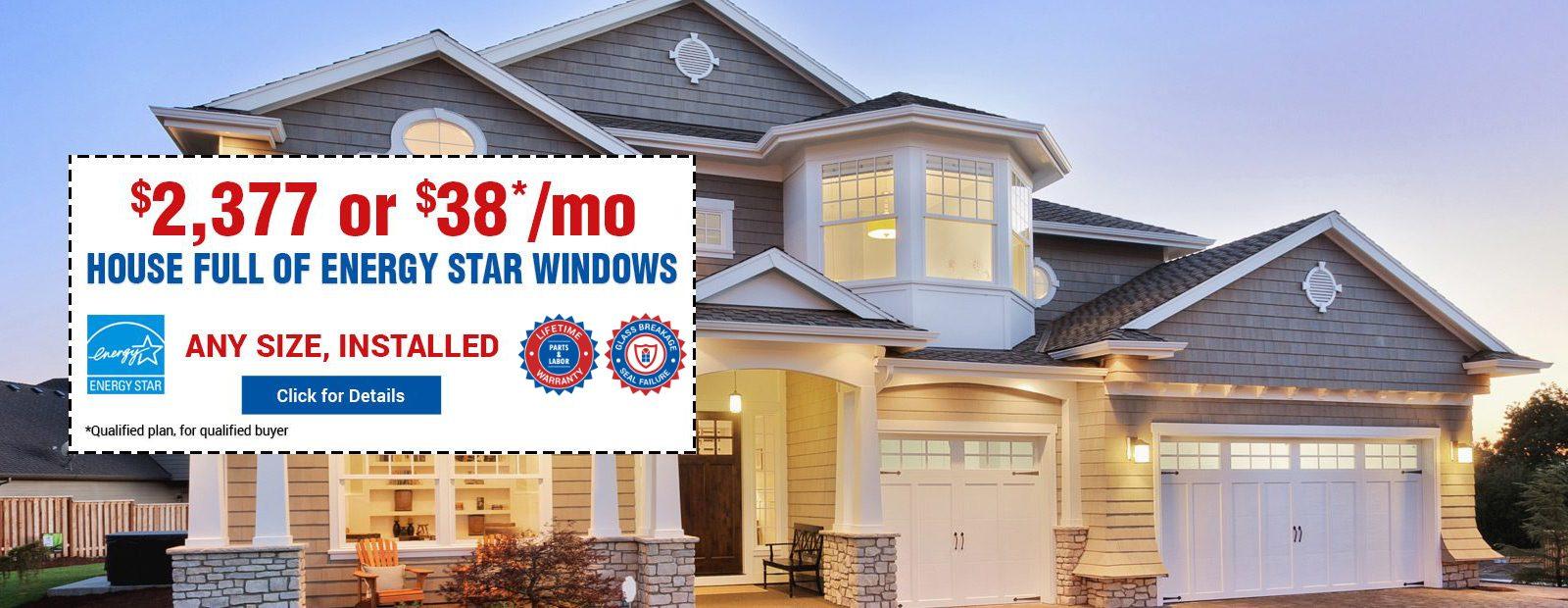 House Full Energy Star Windows