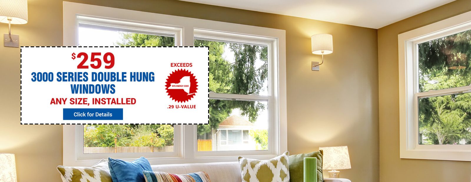 3000 Series Double Hung Windows